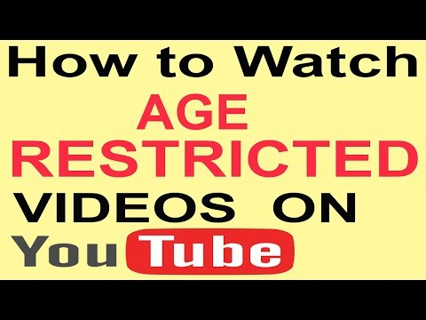 How To Watch Age Restricted Videos On YouTube Urdu/Hindi | Sign In To Confirm Your Age