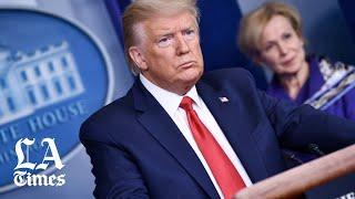 Trump calls coronavirus 'the Chinese virus'