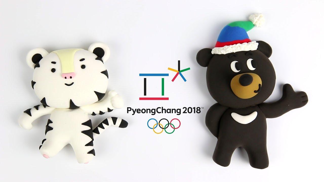 How to make PyeongChang 2018 Olympic mascot SOOHORANG & BANDABI