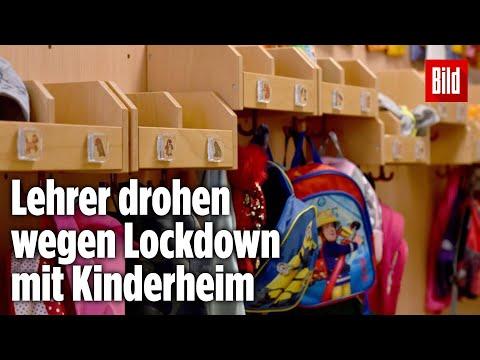 Schul-Lockdown in Bad Reichenhall: Lehrer drohen Schülerin mit Kinderheim