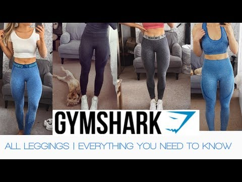 94f3f1d6b4ccc GYMSHARK LEGGINGS REVIEW | Everything you need to know! - YouTube