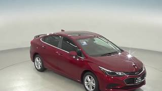 180393 - New, 2018, Chevrolet Cruze, LT, Red, Test Drive, Review, For Sale -