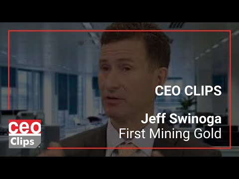 CEO Clips: Jeff Swinoga | First Mining Gold | Large Gold Resource In Canada