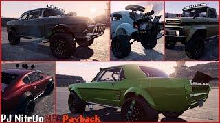 NFS Payback - Todos los coches desguace Super Version todoterreno / all cars Super Build off-road