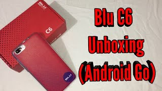 Blu C6 (Go Edition) Unboxing & First Look