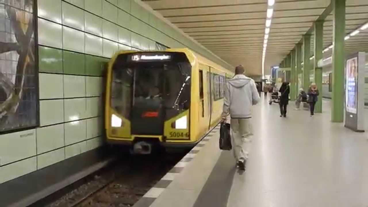 Berlin U-Bahn U5 Magdalenenstraße BVG Baureihe H - YouTube