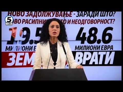 ВМРО-ДПМНЕ: Заради СДСМ граѓаните ќе враќаат 30 милиони евра повеќе