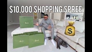 $10,000 SHOPPING SPREE AT FARFETCH, GUCCI & BALENCIAGA!