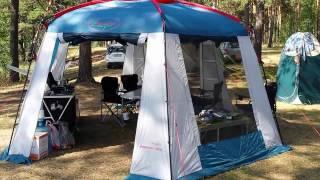 Шатер тент кухня Canadian camper Summer house(Видео обзор шатра Канадиан Кэмпер Саммер Хаус., 2016-08-27T09:17:10.000Z)