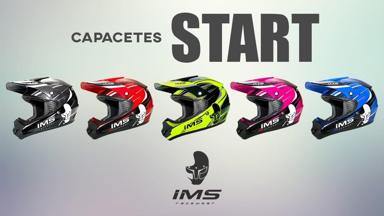 Capacete de trilha com alta qualidade  voudeims Start. IMS Racing e890a07681