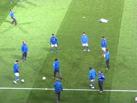 Brazil National Football Team Warm Up Tricks and Skills