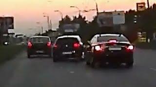危険運転を繰り返すDQN暴走車が事故って廃車。ドライブレコーダー thumbnail