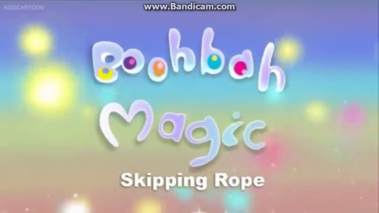 boohbah magic skipping rope title card youtube