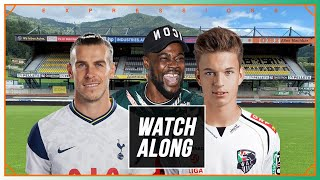 Wolfsberger AC Vs Tottenham LIVE WITH EXPRESSIONS OOZING