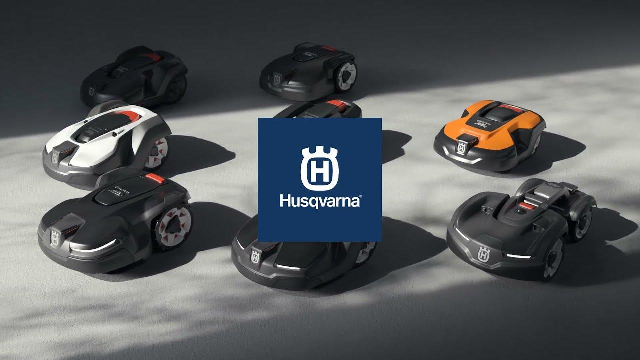 Robot tondeuse Automower® HUSQVARNA :  Fini les corvées de tonte !