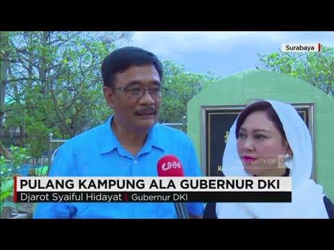 Pulang Kampung ala Gubernur DKI, Djarot Saiful Hidayat - Mudik Lebaran 2017