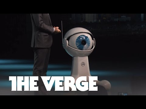 Mercedes-Benz's CES cohost is a large robot eyeball — CES 2015