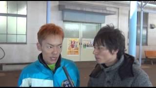 2013年12月22日住之江ボートで開催のSG賞金王決定戦5日目のピットで山口...