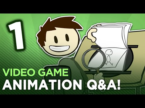 Animation Q&A - #1 - Dan Answers Your Animation Questions!