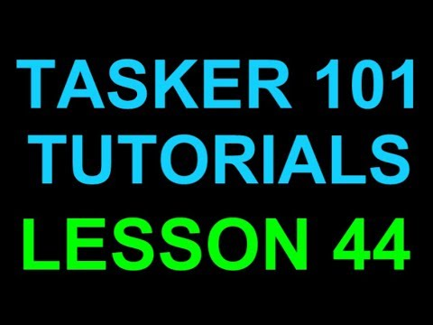 Tasker 101 Tutorials Lesson 44 Car Text Pop Up Scene with Buttons for  Driving Mode
