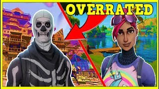 10 MOST OVERRATED SKINS IN FORTNITE! (YOU USE THESE!)