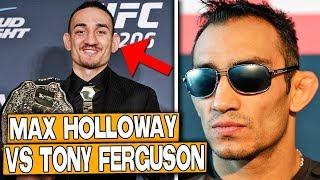 Max Holloway ENFRENTARÍA a Tony Ferguson en UFC 236, Adesanya vs Gastelum en abril |  MMA en ESPAÑOL