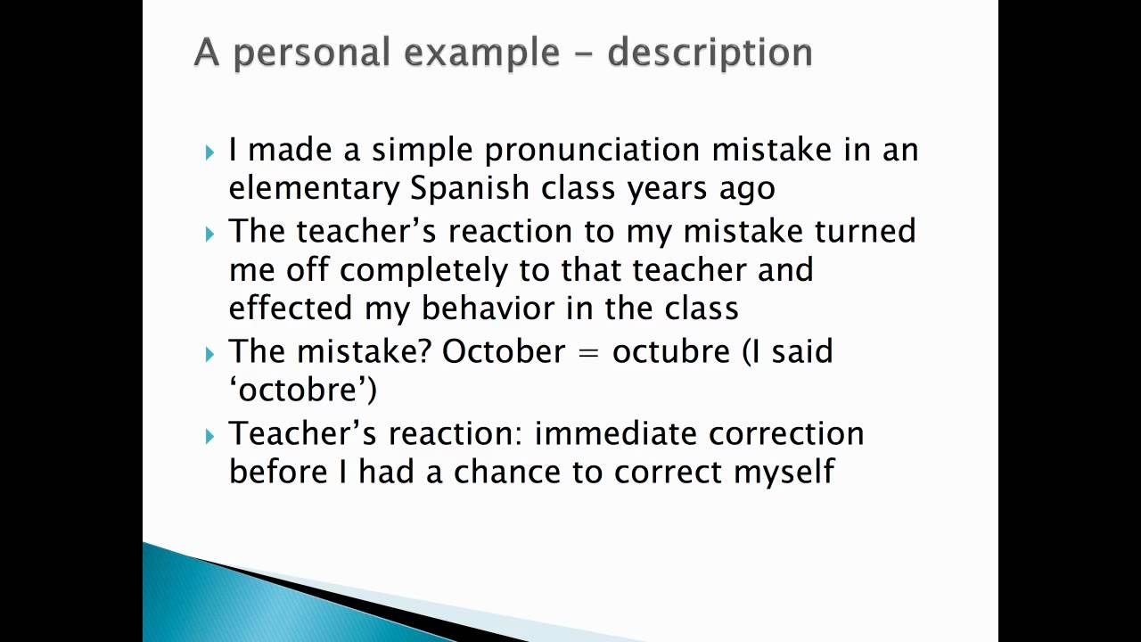 Introduction to reflective writing - Henry Dixon
