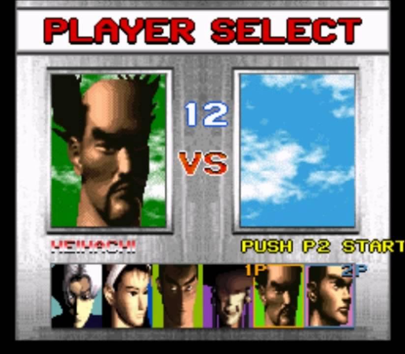 Tekken 2 SNES Character Select - YouTube