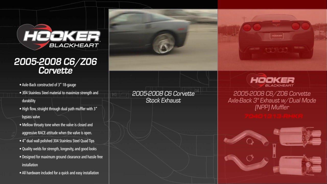 2005-2008 C6/Z06 Corvette Axle-Back 3