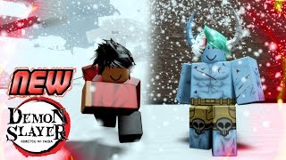 This New Demon Slayer Game on Roblox is NOICE!