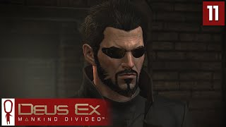 Deus Ex Mankind Divided Gameplay Part 11 - The Door of Perception - Lets Play [Stealth Pacifist PC]
