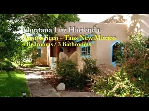 Montana Luz Hacienda -  4 BRs/ 3 Baths - Taos NM -- Premiere Properties Vacation Rentals, LLC