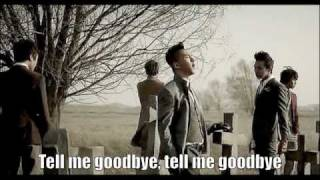 Big Bang- Tell Me Goodbye English Lyrics