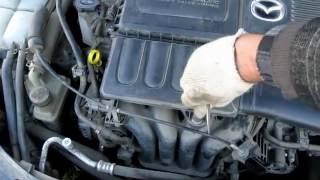Spark plugs replacement Mazda 3 / Замена свечей зажигания на Mazda 3