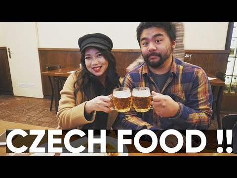 Trying Czech Food for the First Time! (Prague, pt.2)