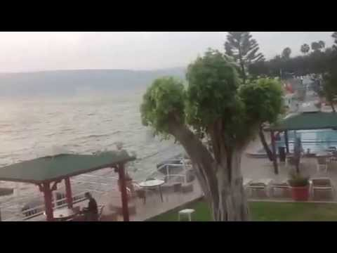 Jerusalem Tour: 2014 Sunrise At The Sea Of Galilee