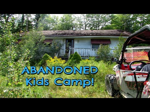 Found ABANDONED Camp While ATV-ing!