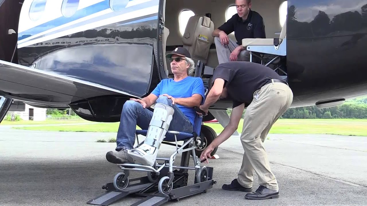 Wheelchair And Cargo Lift For Pilatus Pc 12 And Other