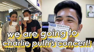 WE BOUGHT CONCERT TICKETS! (CHARLIE PUTH) | Klydescope World