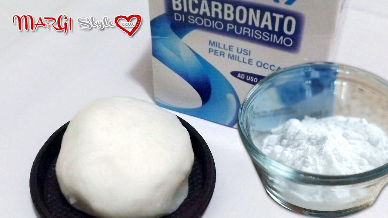 Conosciuto Come fare la pasta di bicarbonato - YouTube EX81