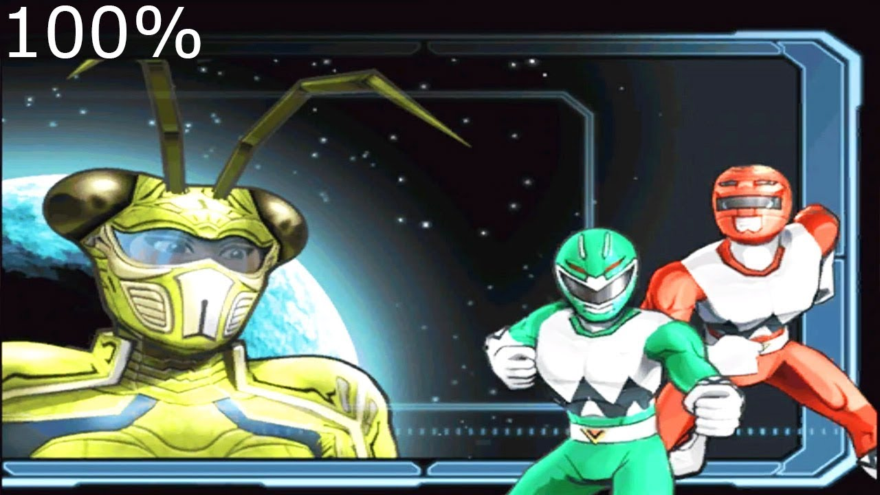 Download Power Rangers: Super Legends 100% - LEVEL 2: Lost Galaxy - Walkthrough