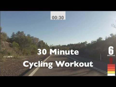 30 Minute Indoor Cycling Workout