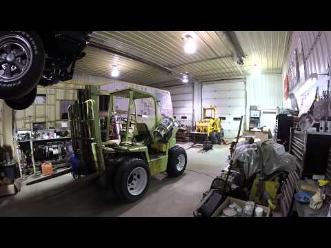 Clark IT-40 Forklift Engine Replacement Part 9 of 9