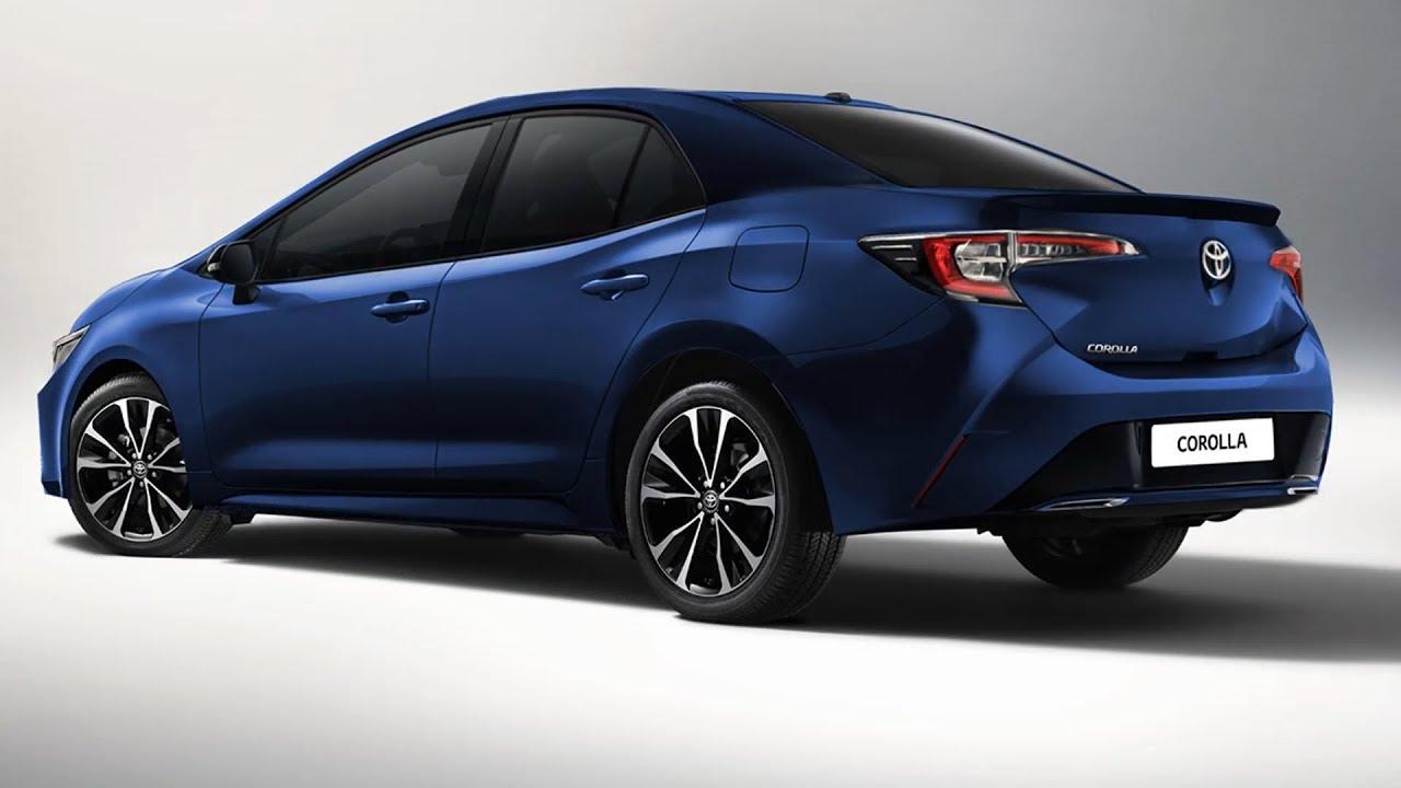 อีกภาพเรนเดอร์ 2020 Toyota Corolla Altis บนพื้นฐาน 2018