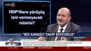 İçişleri Bakanı Soylu'dan HDP'li vekillere ayar:  Bunların kendilerine ait şahsiyetleri de yok