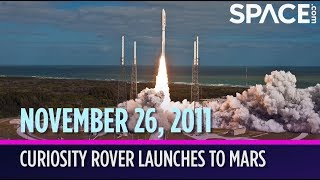 OTD in Space - Nov. 26: Curiosity Rover Launches to Mars