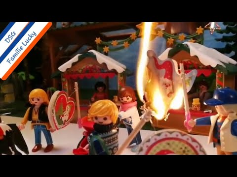 Ich geh mit meiner Laterne Lyrics Kinderlieder Playmobil Film deutsch Laternenumzug / St. Martin