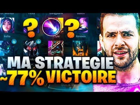 TUTO: Ma Nouvelle Stratégie = 77% De VICTOIRE = ULTRA FORTE  (LoL SKYYART FR)