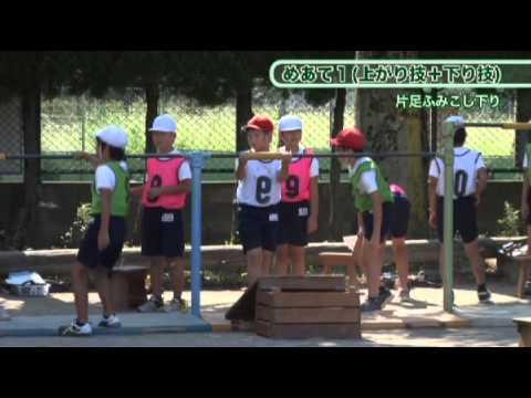小学校中学年体育~05鉄棒運動:文部科学省