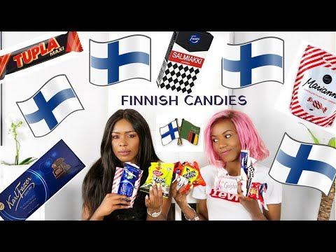 AFRICAN GIRLS TRY FINNISH CANDY | ALICE HAUTANEN